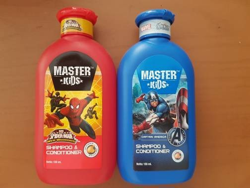Master Kids Shampoo & Conditioner 150ml