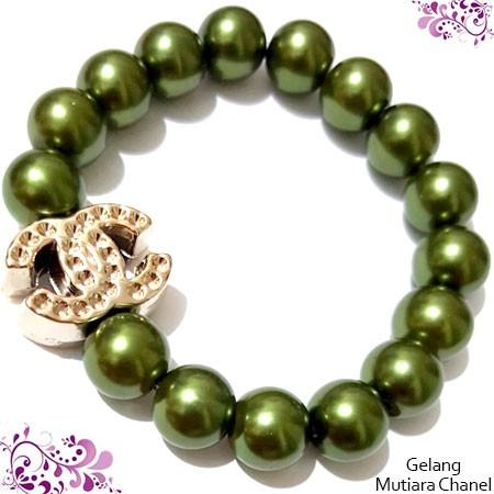 harga Gelang mutiara ch green - aksesoris grosir fashion pesta kado murah Tokopedia.com