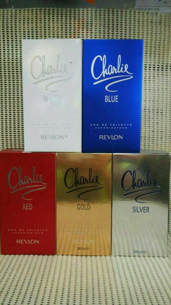 Charlie parfum revlon original white/blue/red/gold/silver 100ml
