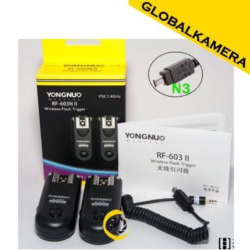 harga Yongnuo rf-603 ii for nikon (n3) Tokopedia.com