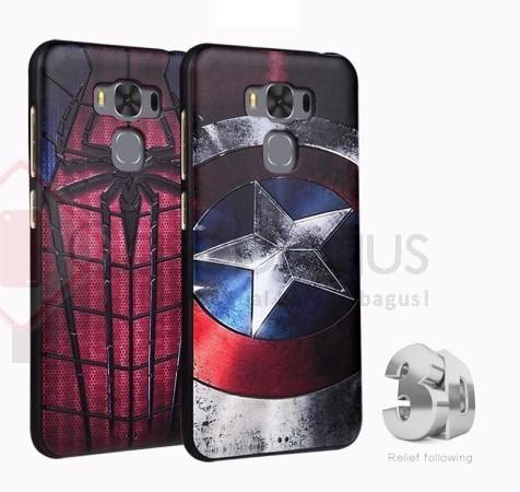 [Original] Asus Zenfone 3 Max 5.5 ZC553KL - 3D Superhero Soft Case