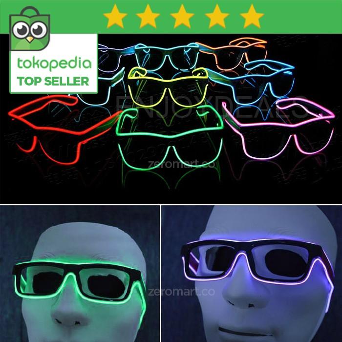 Jual   Original   Kacamata LED - Sunglasses - Kacamata Glow in the ... cb75ffed97