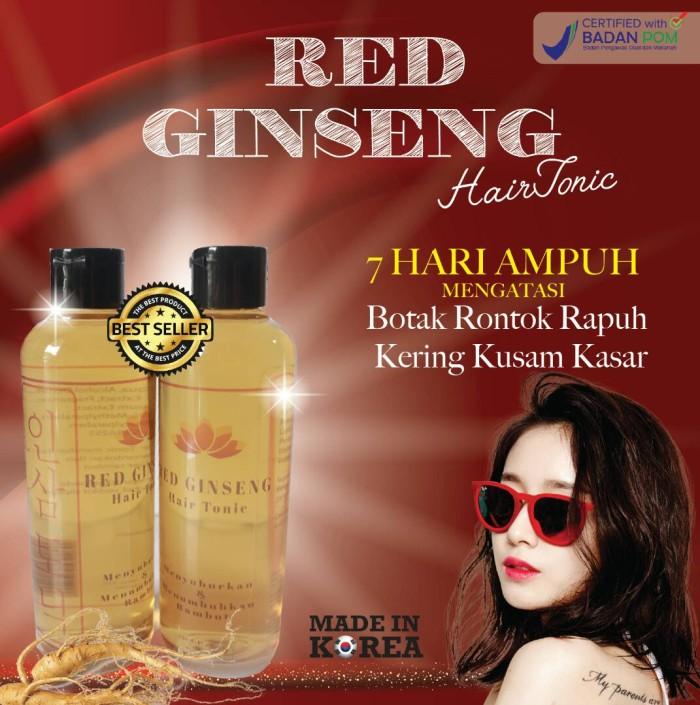 harga Red ginseng hair tonic bpom original Tokopedia.com
