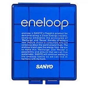Tempat Baterai (Battery Case) Sanyo Eneloop For AA (A2) / AAA (A3)