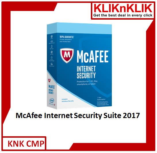 harga Mcafee internet security suite - 1 user Tokopedia.com