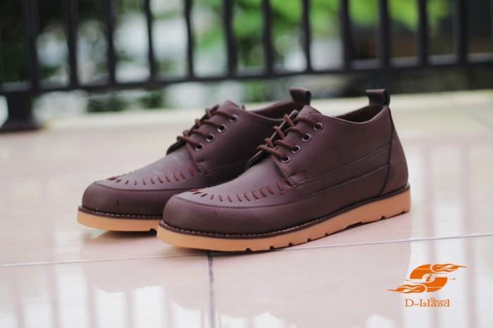 harga Sepatu d-island boots brown muraahh Tokopedia.com