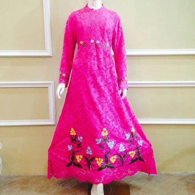 Jual Dress Premium Baju Kebaya Muslim Gamis Syar I Modern