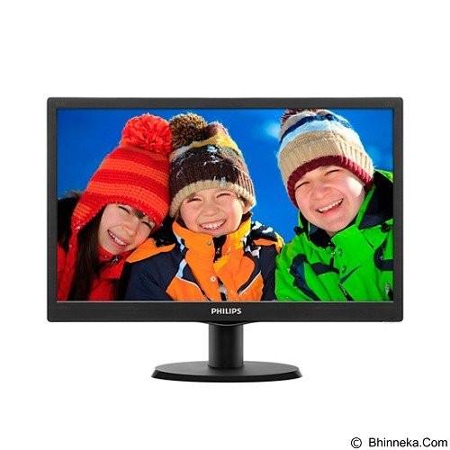 harga Monitor led philip 193v5lhsb-18.5 hdmi garansi resmi Tokopedia.com
