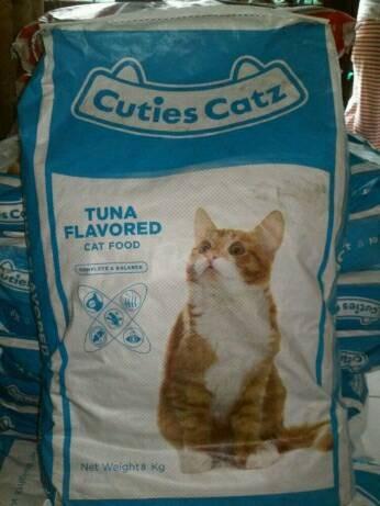 harga Makanan kucing cuties catz cat food tuna repacking kemasan 950 gram Tokopedia.com