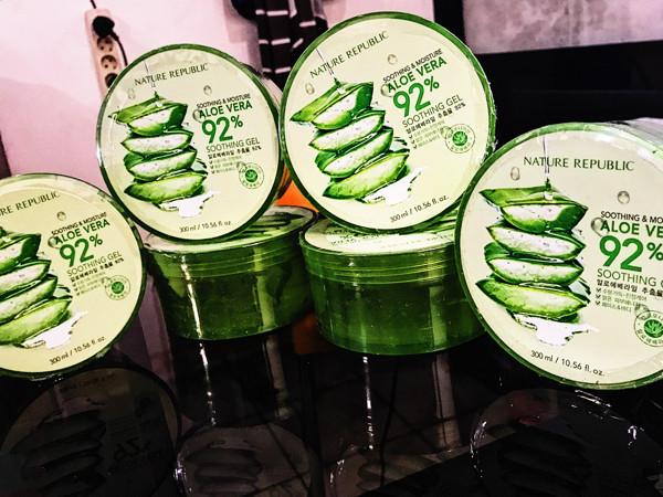 harga Nature republic aloe vera 92% gel original Tokopedia.com