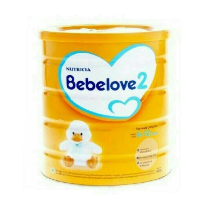 harga Bebelove 2 800g susu formula lanjutan 6-12 bulan nutricia kaleng Tokopedia.com