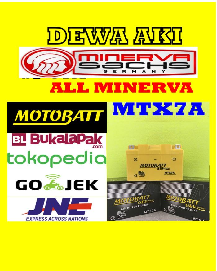 harga Aki gel kering all minerva series motobatt mtx7a / ytx7abs gs yuasa Tokopedia.com