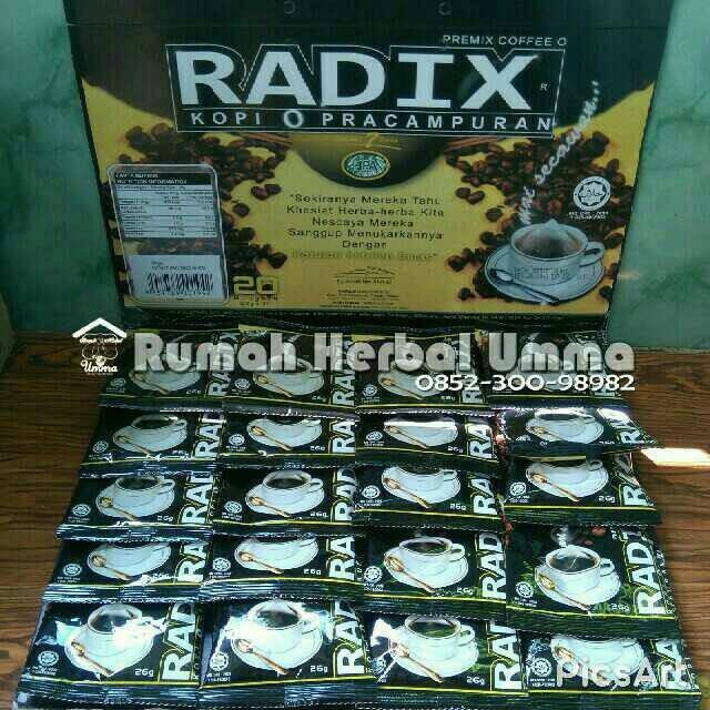 harga Kopi o radix 100% original hpa malaysia (promo ramadhan) Tokopedia.com