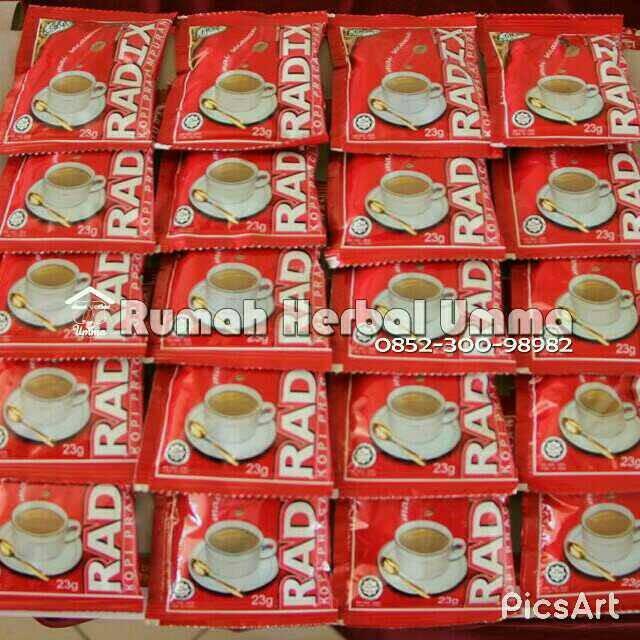 harga Promo kopi radix papan 20 (sachet) 100% original hpa malaysia Tokopedia.com