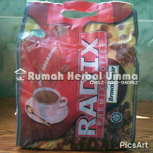 harga Kopi radix brown sugar 100% original hpa malaysia (promo ramadhan) Tokopedia.com