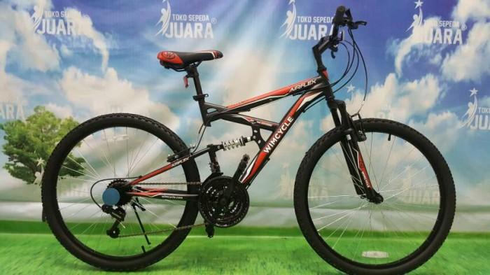 harga Wimcycle airflex x2 dual suspension sepeda mtb 26 inci gunung Tokopedia.com