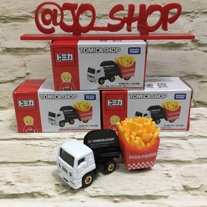 Tomica shop truck giga potato fries