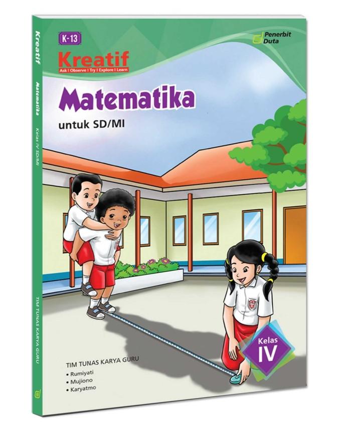 harga Kreatif matematika untuk sd/mi kelas 4 (kur. 2013 revisi) Tokopedia.com