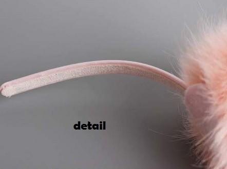 Jual Headband Bando Anak Cantik Pompom Bulu Bulat Clover