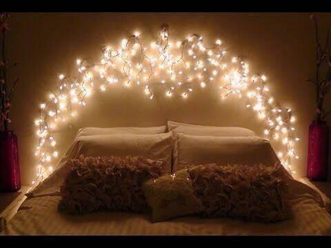 35+ terbaik untuk desain lampu natal di kamar - inspiratif