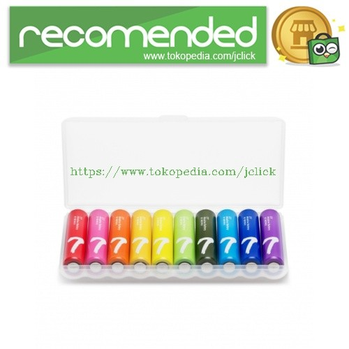 harga Xiaomi zi7 batu baterai alkaline aaa battery 10pcs - multi-color Tokopedia.com