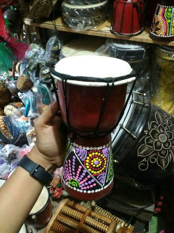 ... Jimbe Tinggi 20 cm Alat Musik Tradisional Jawa Mainan Anak Murah