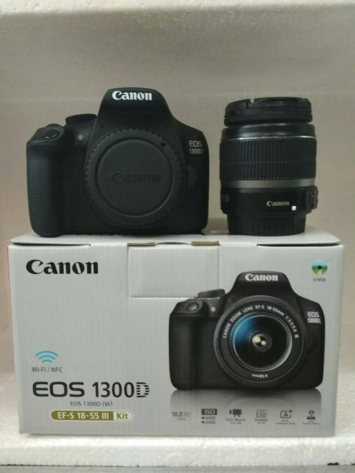 Foto Produk camer dslr canon 1300D wifi dari ganesha-elec