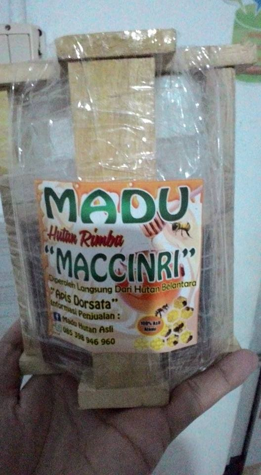 Jual Madu Maccinri Hutan Rimba Sulawesi Selatan (500 g) - Kab  Gowa -  Maccinri BeeStore | Tokopedia
