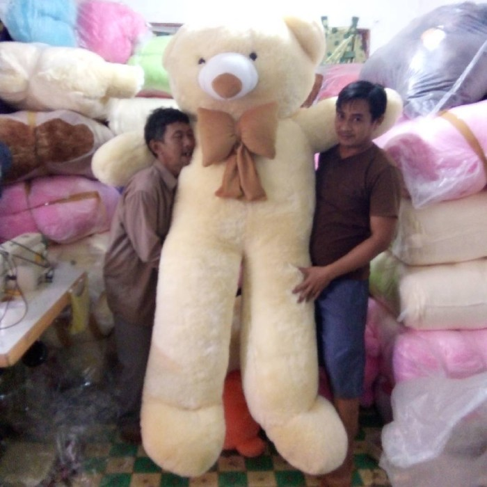 Jual boneka teddy bear raksasa 200cm x 120cm - grosir-boneka88 ... b04f75187c