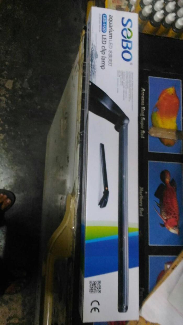 harga Lampu led aquarium sobo 112d 5watt Tokopedia.com