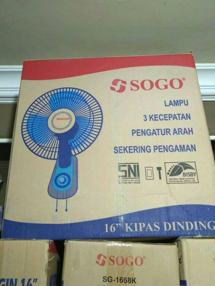 harga Kipas angin dinding sogo 16 Tokopedia.com