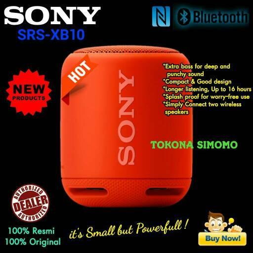 harga Sony srs xb10 / xb 10 extra bass bluetooth portable speaker original Tokopedia.com