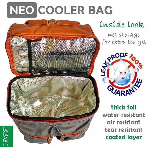 Babygo inc neo cooler bag (tempat simpan asi mpasi bayi)