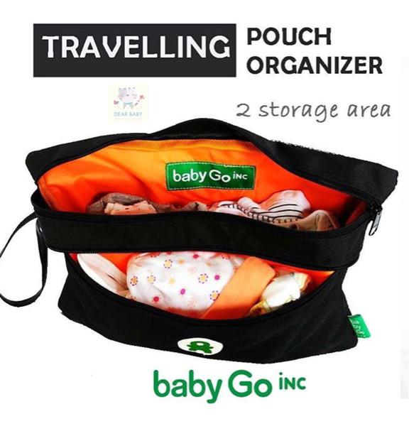 harga Babygo inc travellinh pouch organizer (tas simpan popok barang bayi)