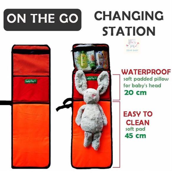 harga Babygo inc on the go changing station (alas tempat ganti popok / baju)