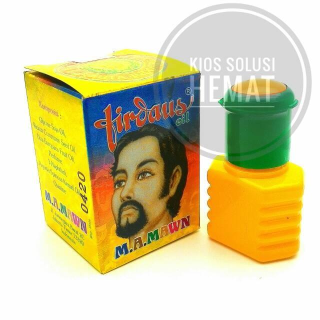Minyak Herbal FIRDAUS OIL Original 100% (Penumbuh Jambang-Jenggot)