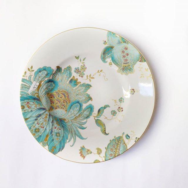 harga Piring makan / hias sango motif elliza spring Tokopedia.com