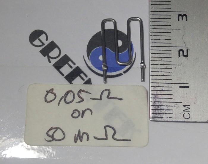 Foto Produk Maganese Shunt Current Reistor 0,05Ohm 50mOhm (1lot = 10pcs) dari Greentek Surabaya