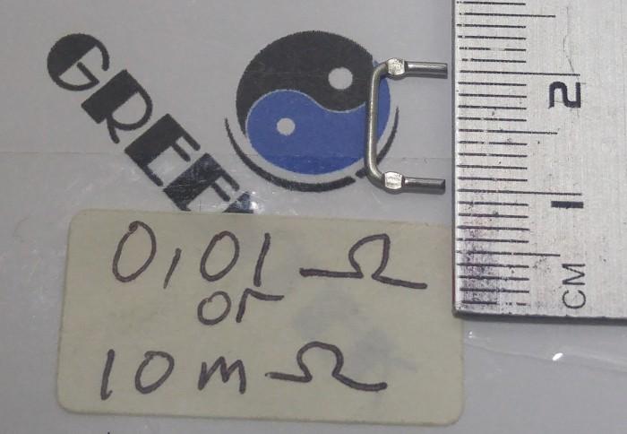 Foto Produk Maganese Shunt Current Reistor 0,01Ohm 10mOhm (1lot = 10pcs) dari Greentek Surabaya
