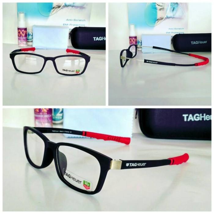 Frame Kacamata Th 0520 Blk - Rd kacamata Olahraga kacamata Minus unisek 126a752ec3