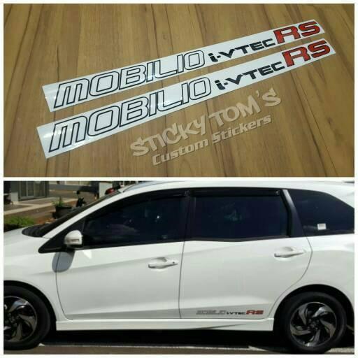 Jual Stiker Pintu Samping Belakang Honda Mobilio I Vtec Rs Jdm Style