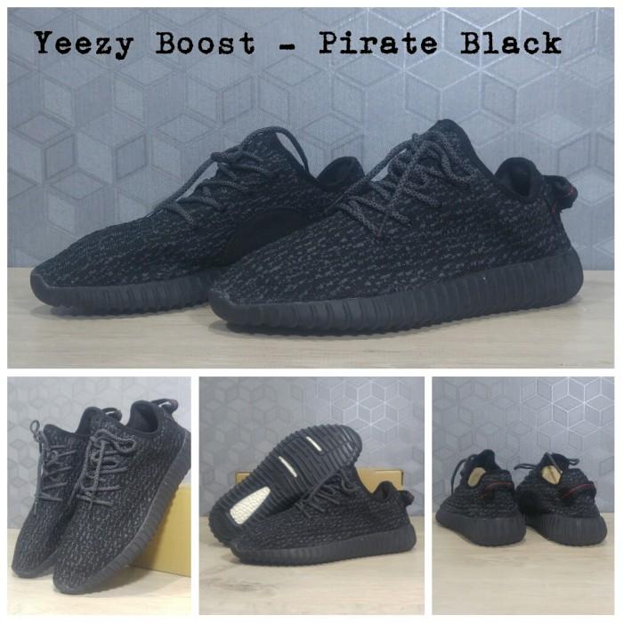b35247610eb Jual Sepatu Jalan Sneakers adidas yeezy boost 350 pirate black ...