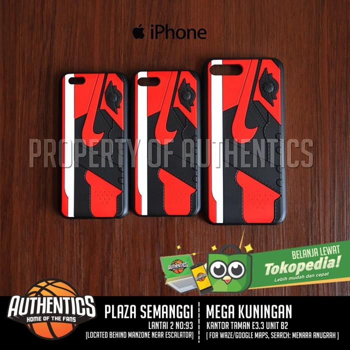 harga Sneakers 3d phone case - air jordan 1 banned [iphone 7] Tokopedia.com