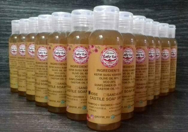 harga Sabun cair kefir susu kambing olive oil (red rose) Tokopedia.com