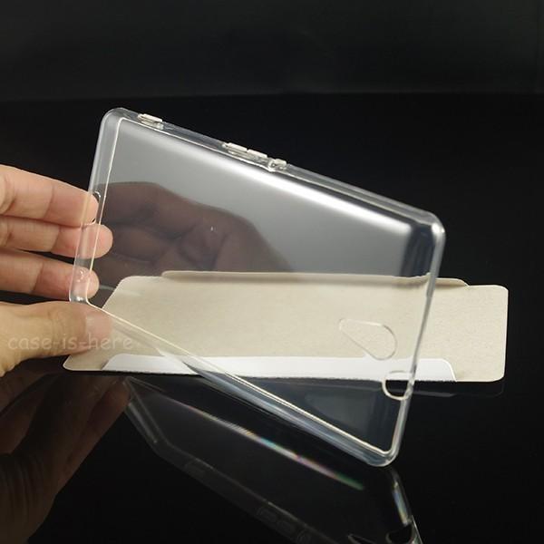 Sony Xperia C5 Softcase Ultrathin Silicon Warna Hitam