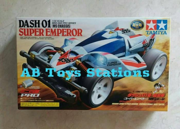 harga Tamiya mini 4wd dash-01 super emperor (ms chassis) Tokopedia.com