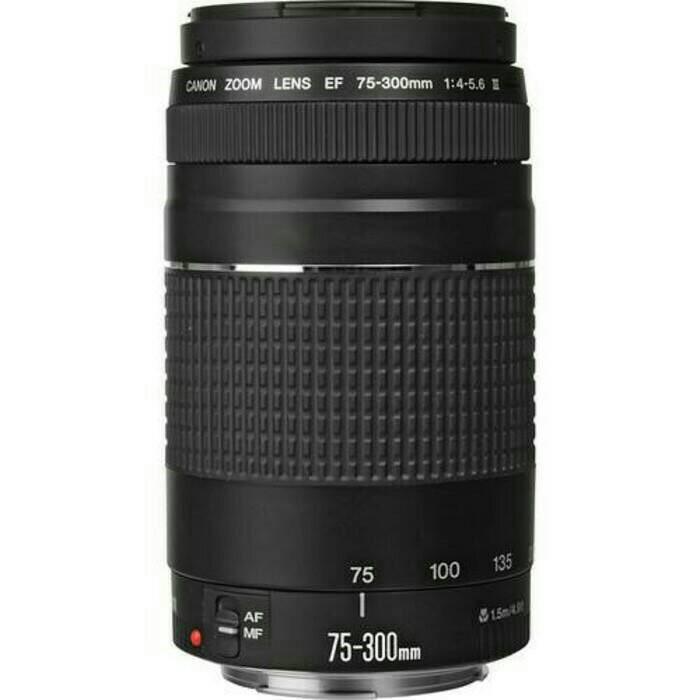 harga Lensa canon 75 300 mm f 4.5 Tokopedia.com