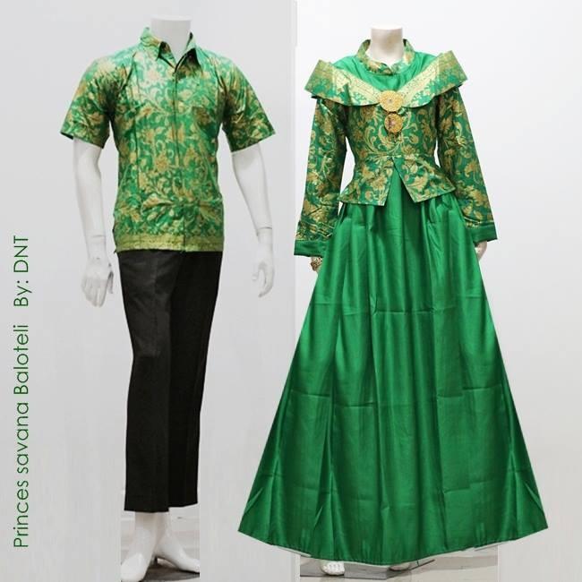 batik sarimbit couple muslim princes savana[baju batik keluarga