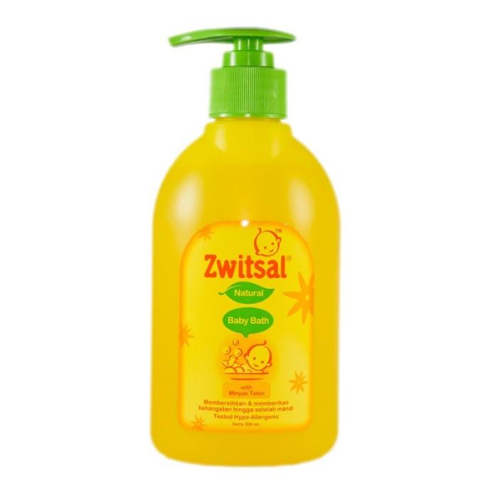 harga Zwitsal baby bath natural 2 in 1 dengan minyak telon 300 ml sabun mand Tokopedia.com