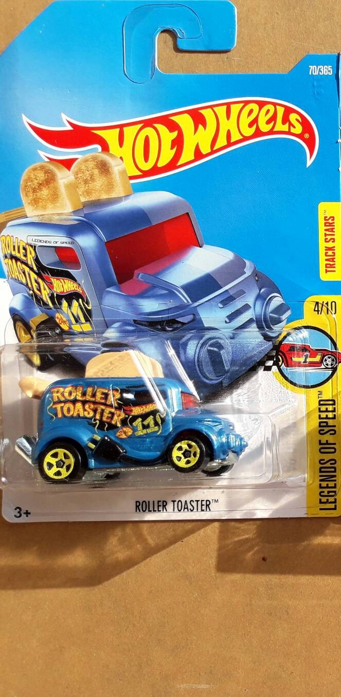 HOTWHEELS ROLLER TOASTER 2017 BIRU (FIRST EDITION)